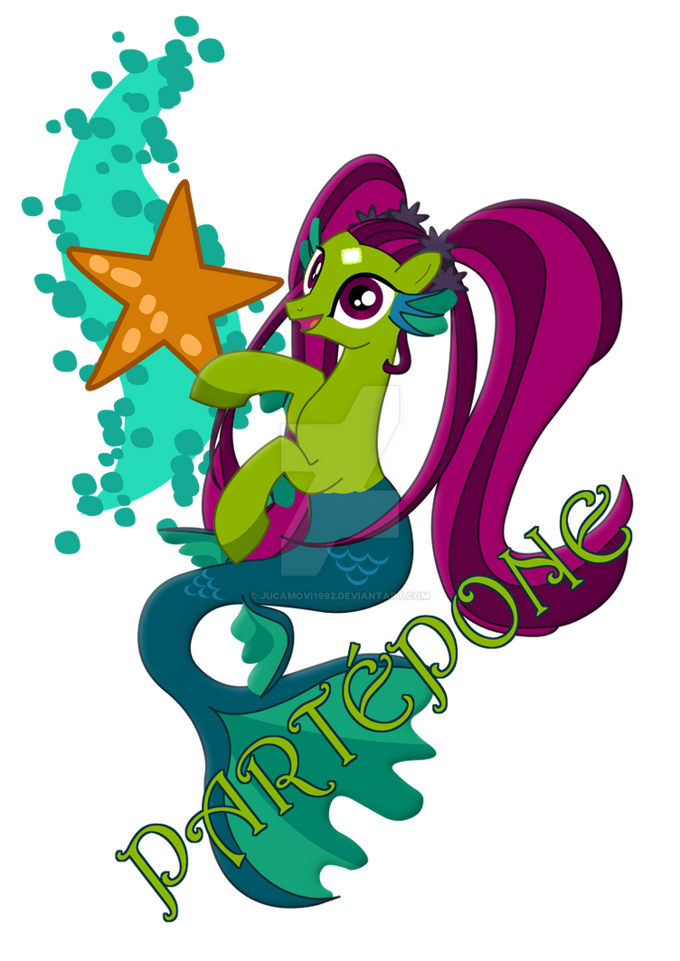 Partepone the talkative mermaid by jucamovi1992