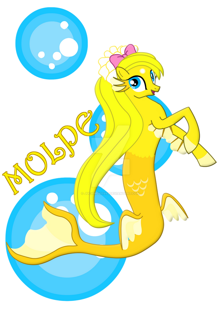 Molpe the silly mermaid by jucamovi1992