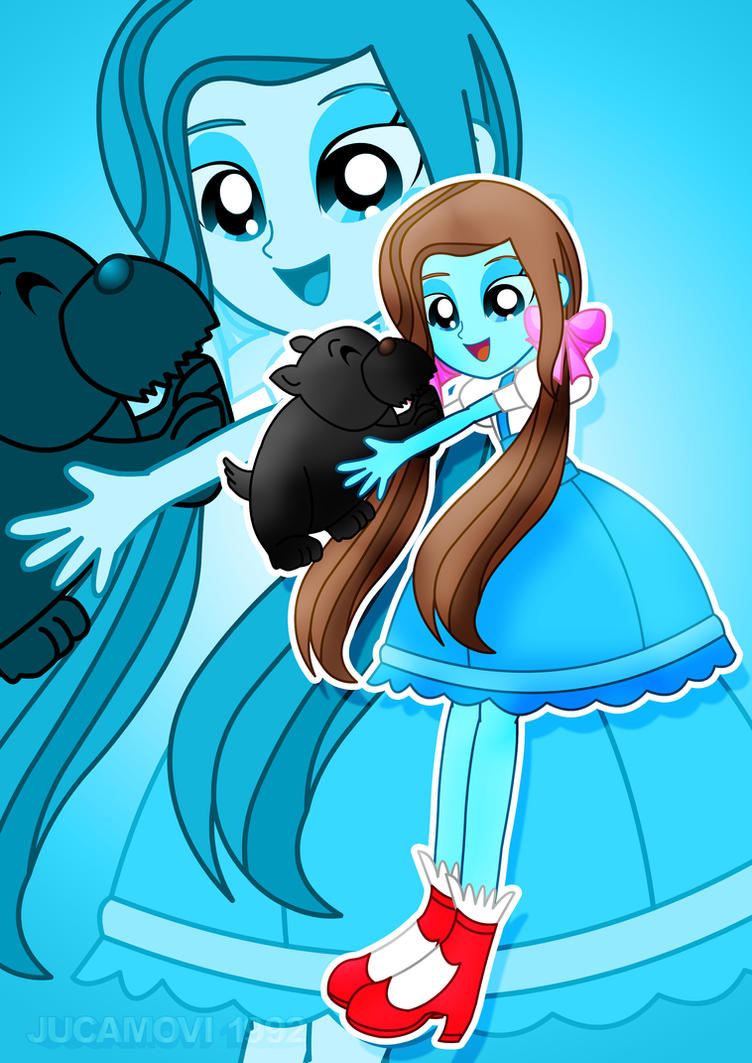 Dorothy and Toto by jucamovi1992