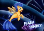 Flash Sentry_the Sea Pony