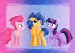 Pinkie Sentry and Flash Pie