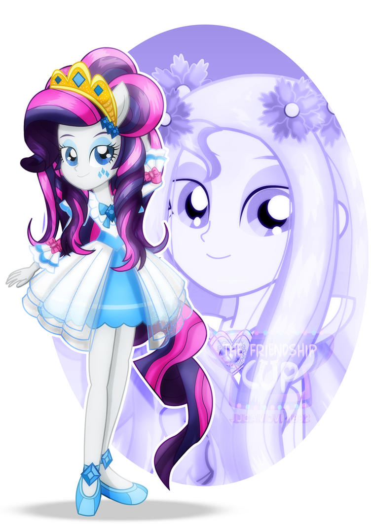 The Friendship Cup_Rarity by jucamovi1992