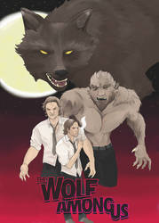 The Wolf Among Us poster design