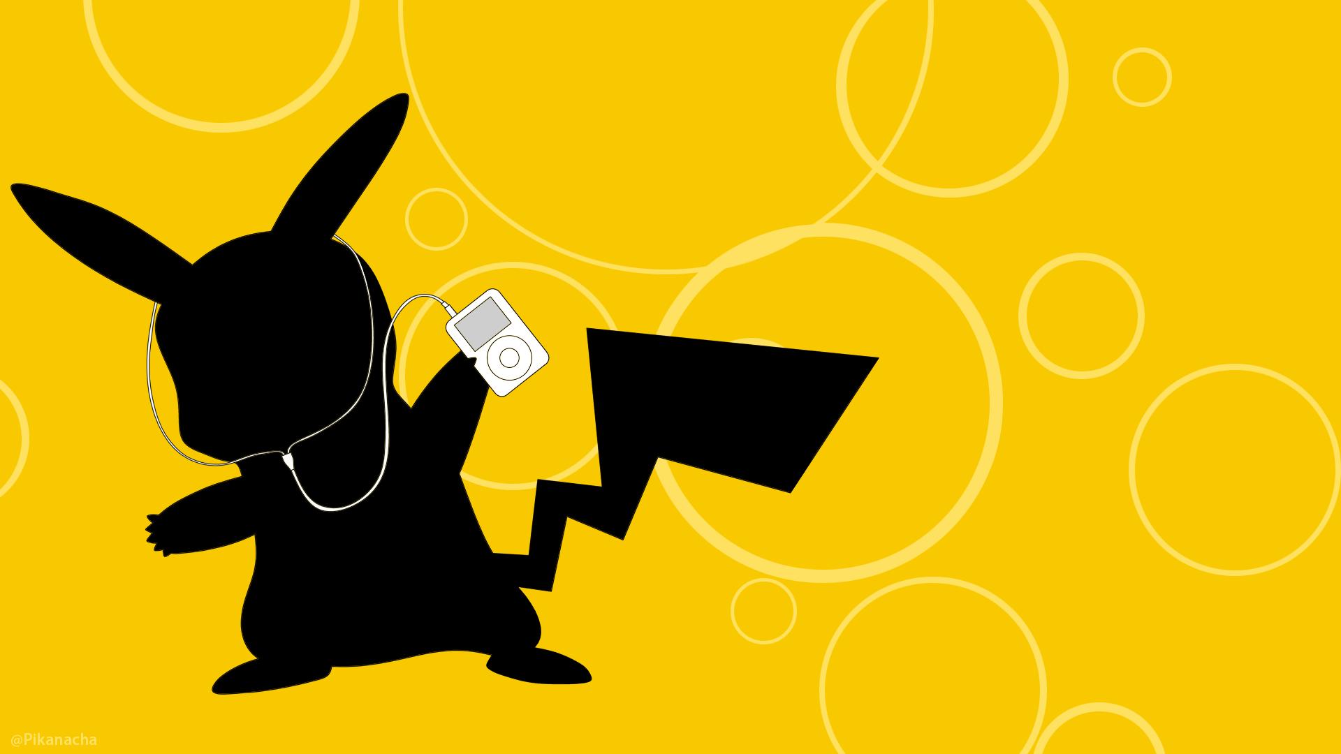Pikachu+iPod Wallpaper By Pikanacha On DeviantArt