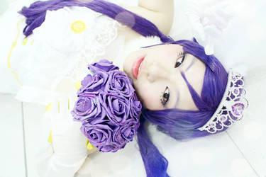 love live-nozomi tojo wedding dress by karman0301