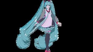 [MMD] TDA x Aple Hatsune Miku V4K