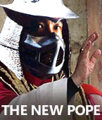 Shredder is the Pope by Omakeke