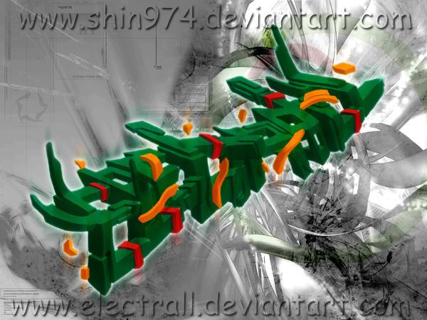 graff 3D electrall by shin974 on DeviantArt