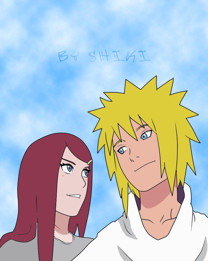 Dibujos Mangas [S]hiki Minato_y_kushina_by_shikirayleigh-d4fem7c