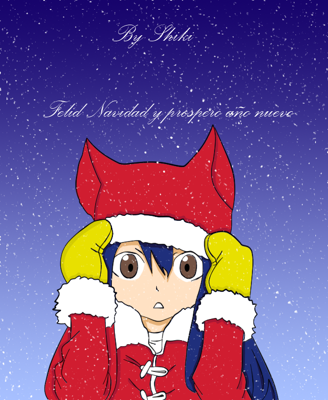 Dibujos Mangas [S]hiki Wendy_navidad_by_shikirayleigh-d4jzp7j