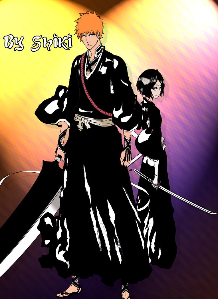 Dibujos Mangas [S]hiki Ichigo_y_rukia_manga_by_shikirayleigh-d4nko17