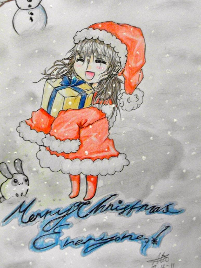 Merry Chrishmush by Allie-Wallie