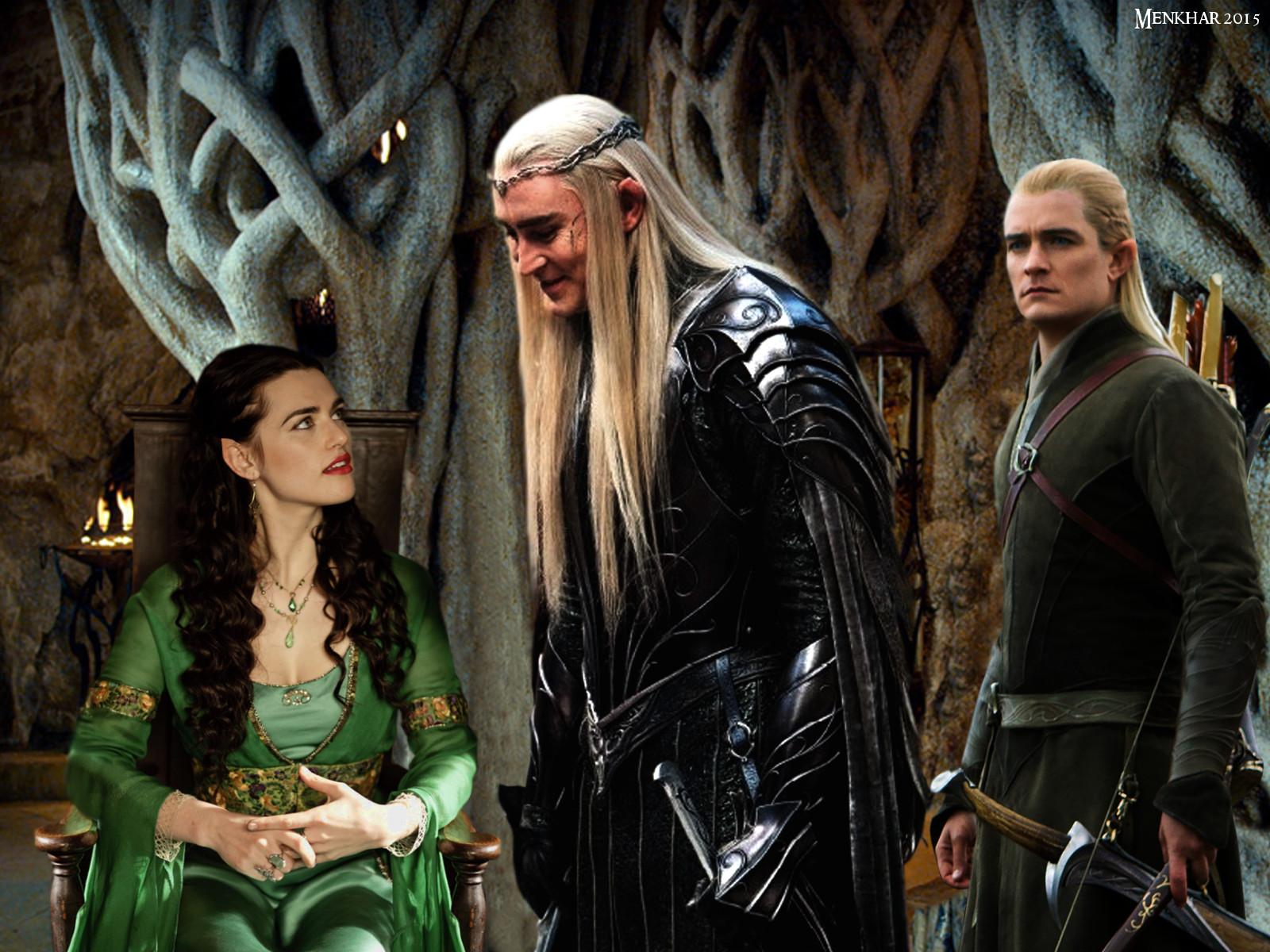 Love triangle 3: Thranduil, Legolas and Adlanniel by ...