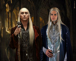 Two Kings - Thranduil and Oropher by Menkhar