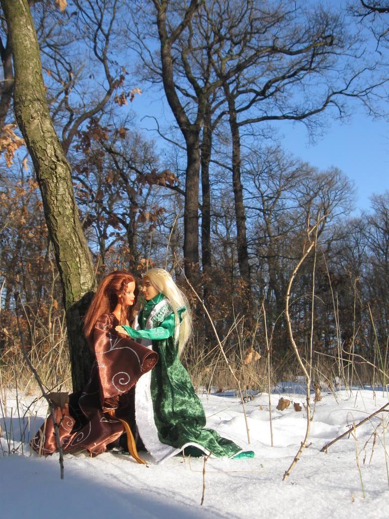 Wintertime in Eryn Lasgalen by Menkhar