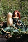 Elven love in springtime by Menkhar