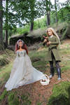 Thranduil and  his queen in Eryn Lasgalen by Menkhar