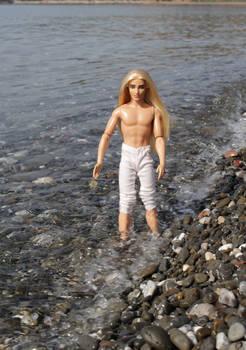 Thranduil in the sea