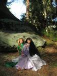 Prince Legolas and Leiniel in Eryn Lasgalen 3 by Menkhar