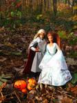 Elven pumpkin celebration by Menkhar