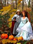 Elven pumpkin celebration 2 by Menkhar