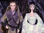 Legolas and Arwen by Menkhar