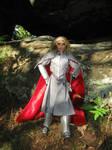 Elven KIng Thranduil in elven armour by Menkhar