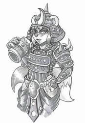 Panada Samurai by tigeri210