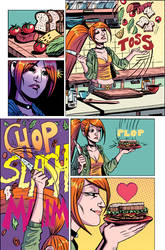 Girl Comics 02 page by crispeter
