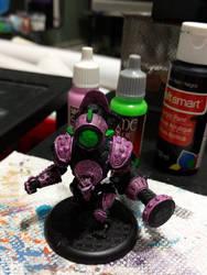 Pink Robot/golem