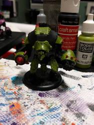 Green Robot/golem
