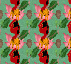 Indian Red Riding Hood pattern