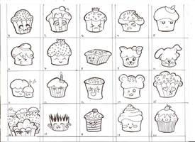 Memory Game Cupcakes
