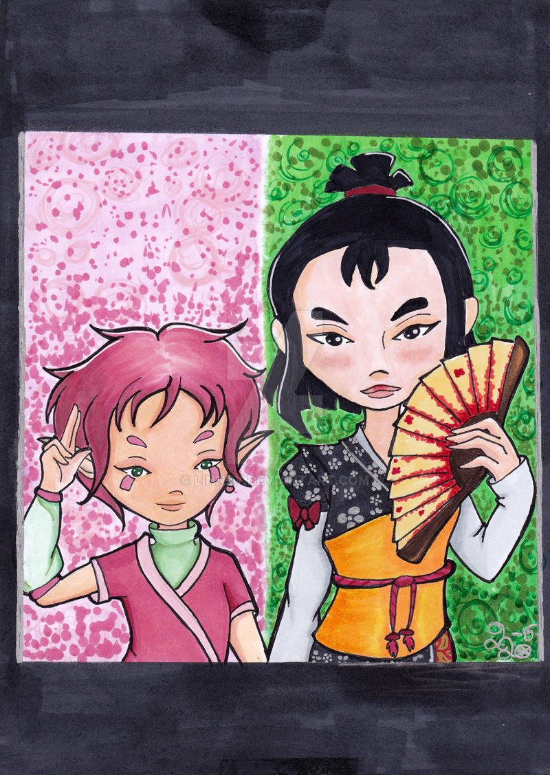 Code Lyoko Comission by Linnzy