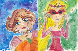 Irma and Cornelia Halloween