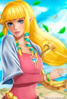 Zelda SS by ClaireStryfe