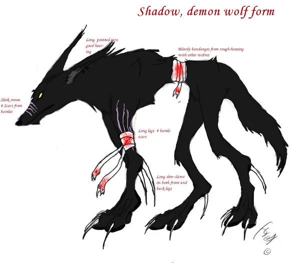 shadow demon wolf ref by vincentvalentinefan on deviantart