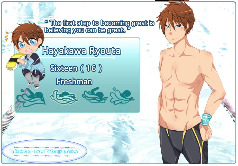 ::MnG:: Hayakawa Ryouta by Hourglass34