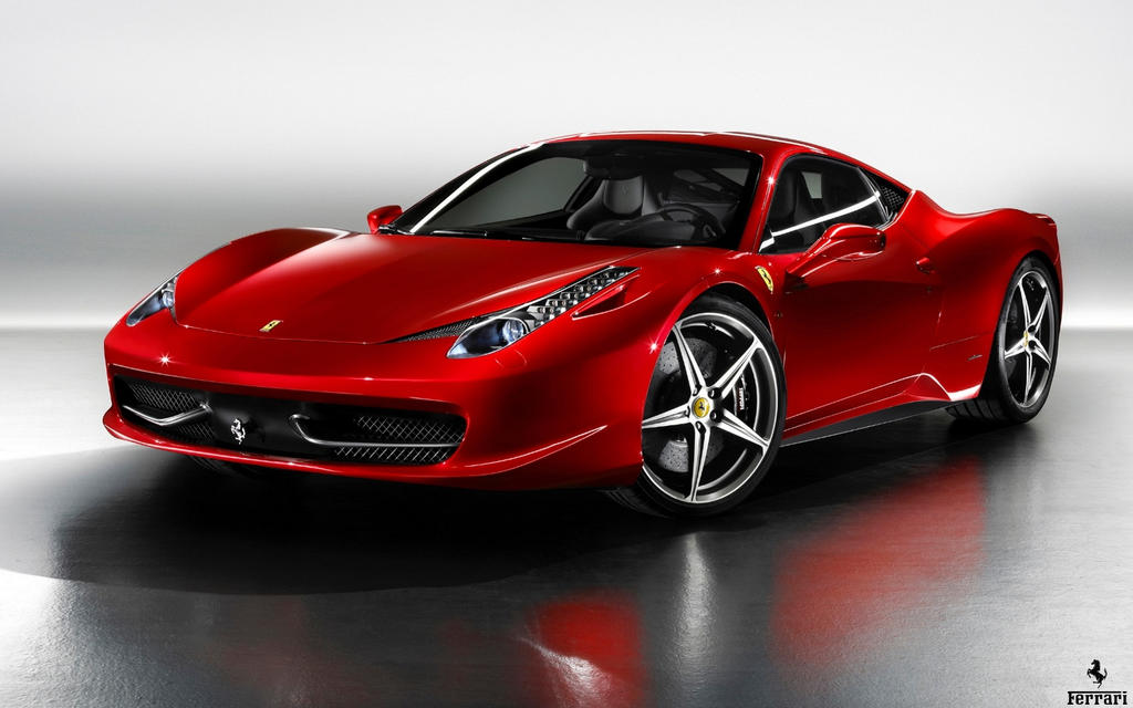 458 red cars - photo #22