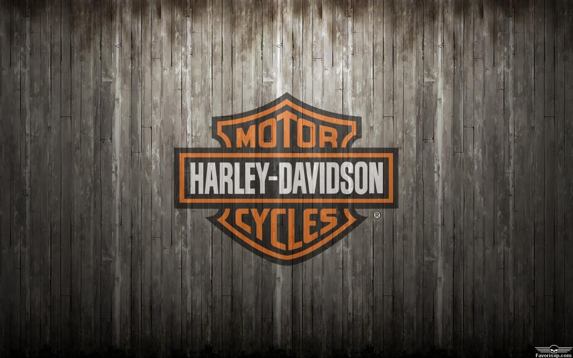 Harley Davidson Logo Wings Noir Et Or