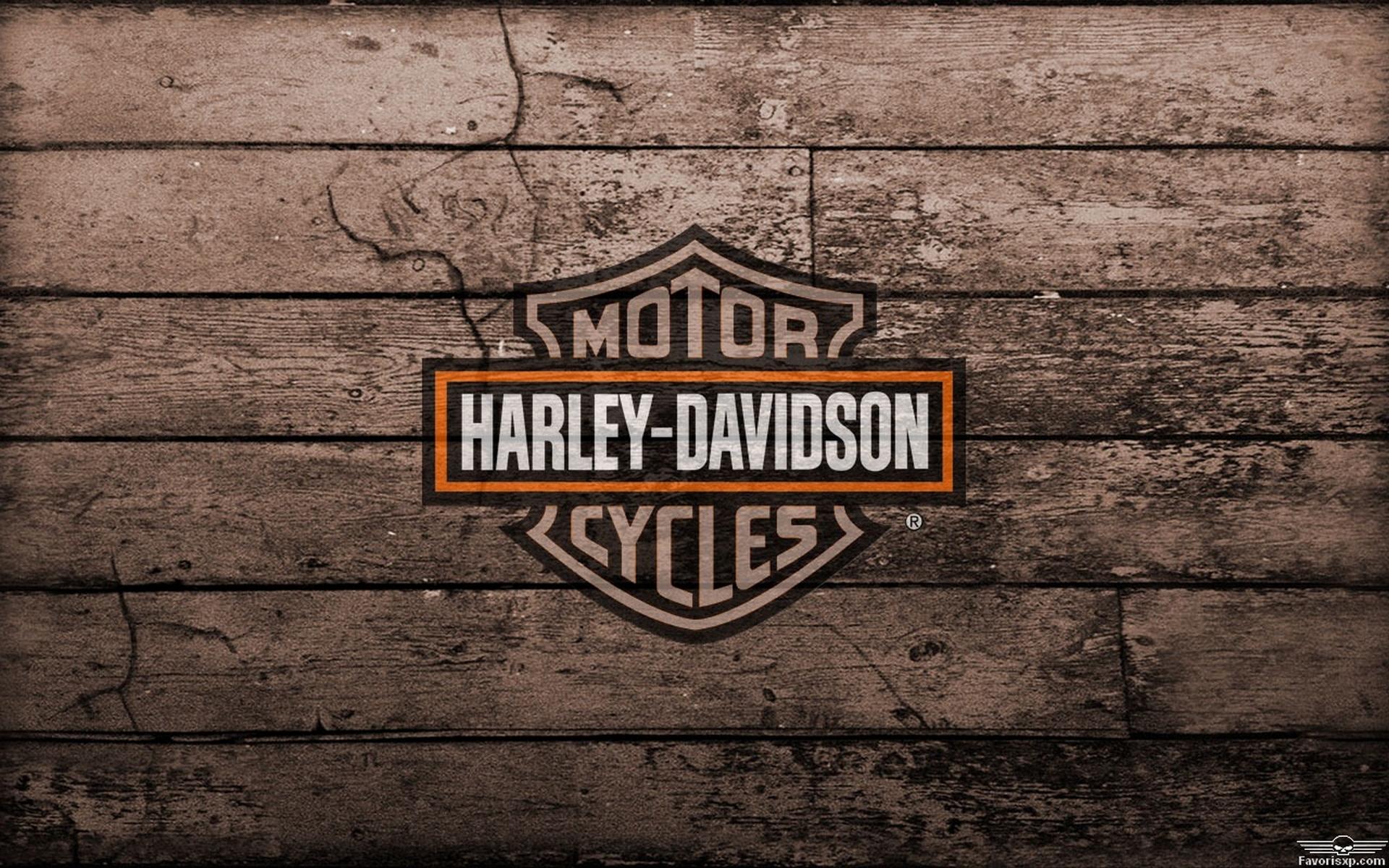 newest harley davidson logo wallpapers - photo #19