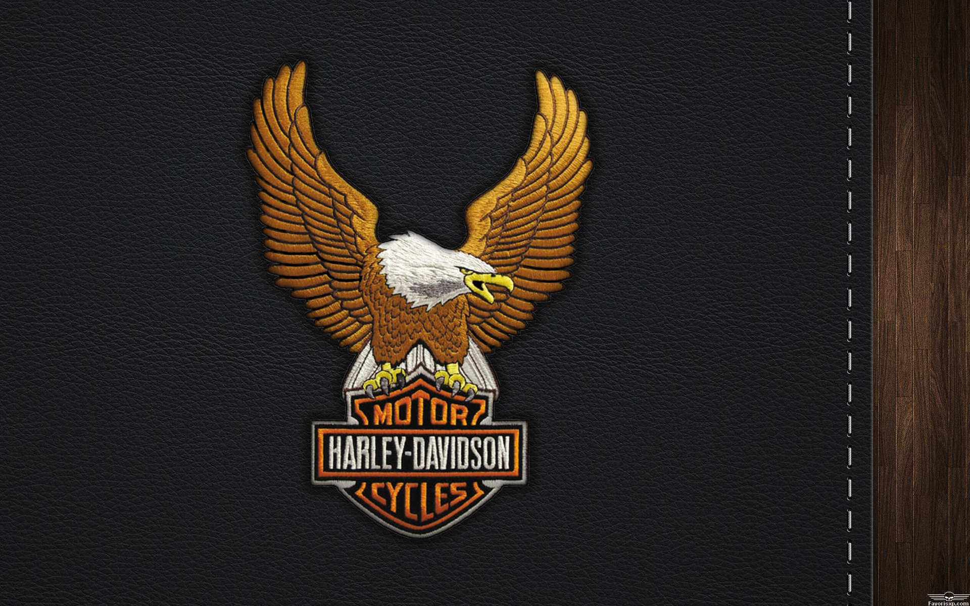 Harley Davidson Eagle Logo Wallpaper  1399589