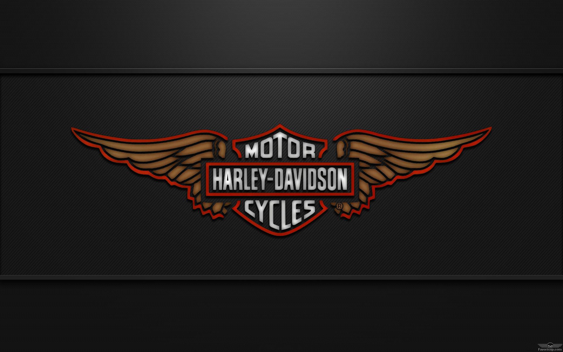 newest harley davidson logo wallpapers - photo #31