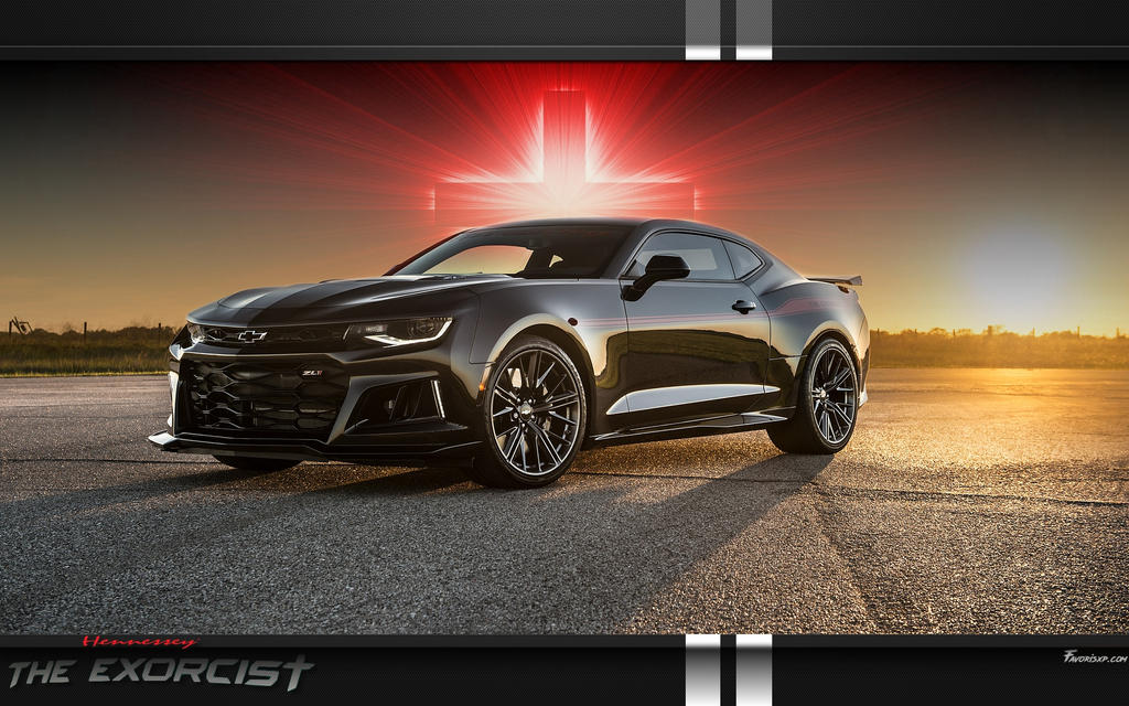 The Exorcist Hennessey Camaro zl1 wallpaper by favorisxp on DeviantArt
