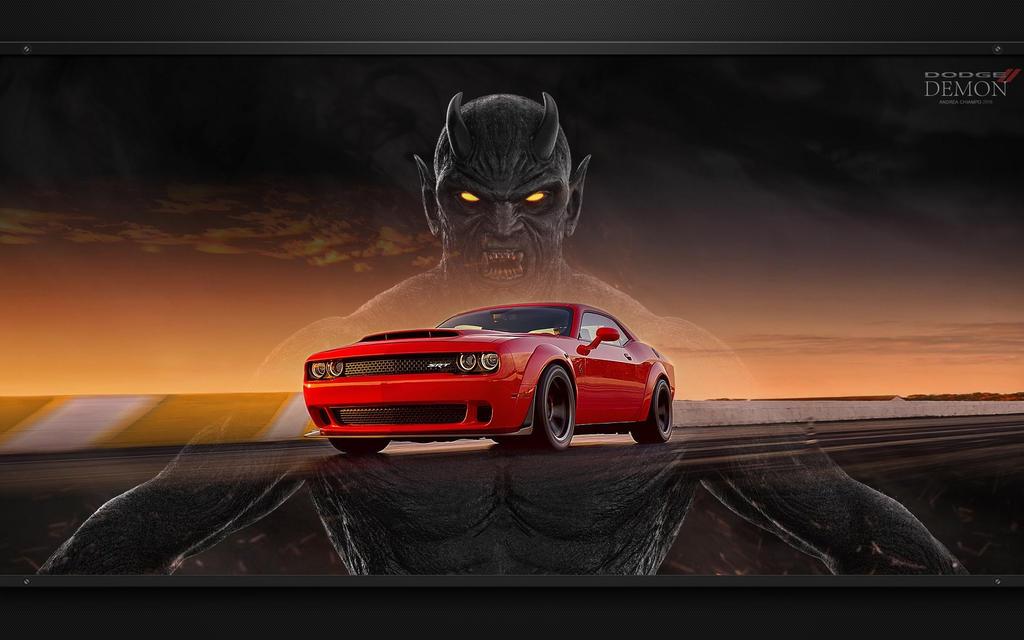 Srt Hellcat >> 2018 Dodge Challenger SRT Demon Wallpaper by favorisxp on DeviantArt