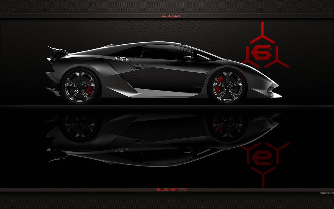 Lamborghini Sesto Elemento Car Wallpaper By Favorisxp On Deviantart