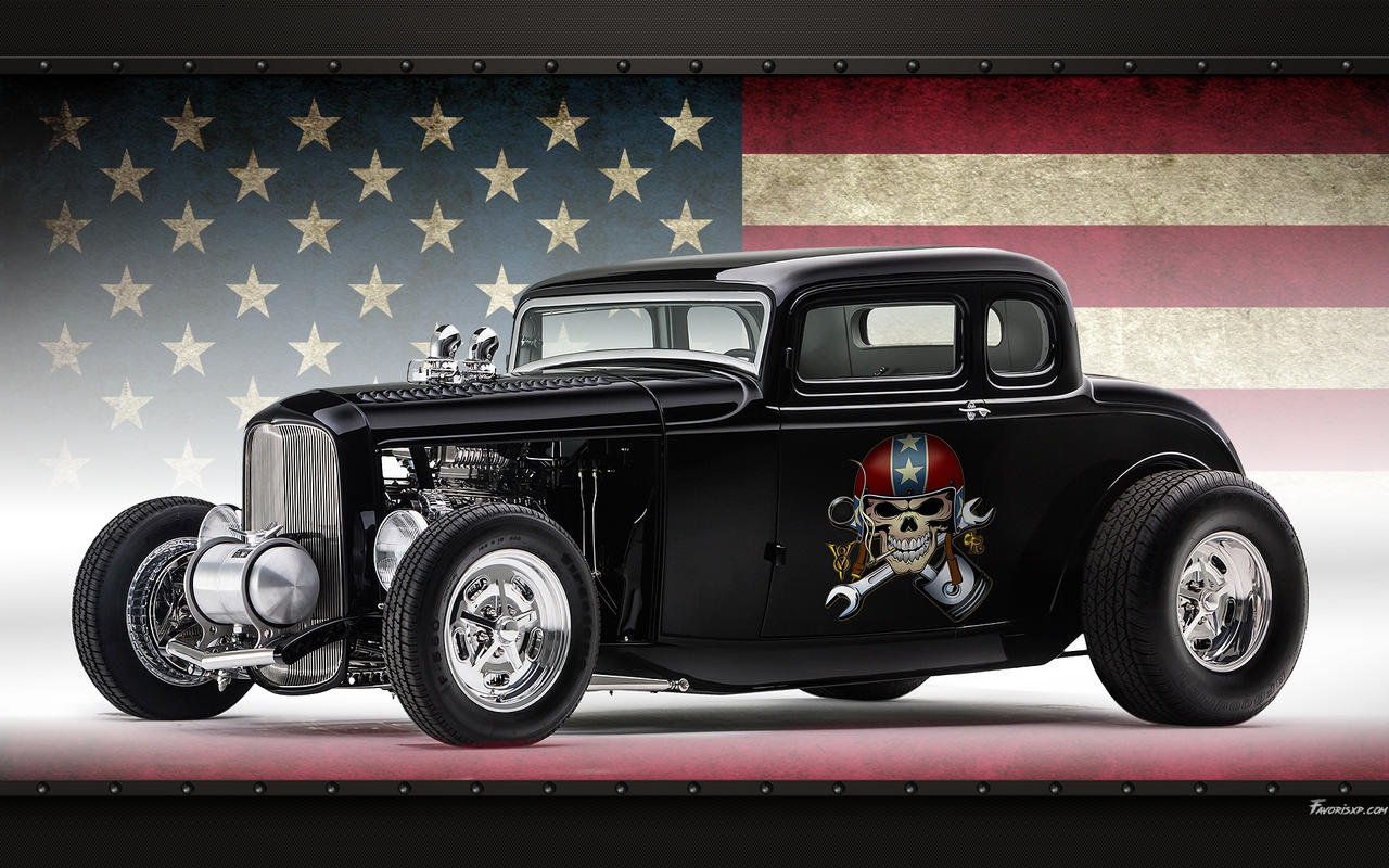 Hot Rod Ford 32 Coupe Wallpaper By Favorisxp On Deviantart