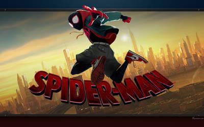 Spider Man into the Spider-Verse - Wallpaper
