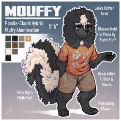 Mouffy Character Sheet by HalcyonMoufette