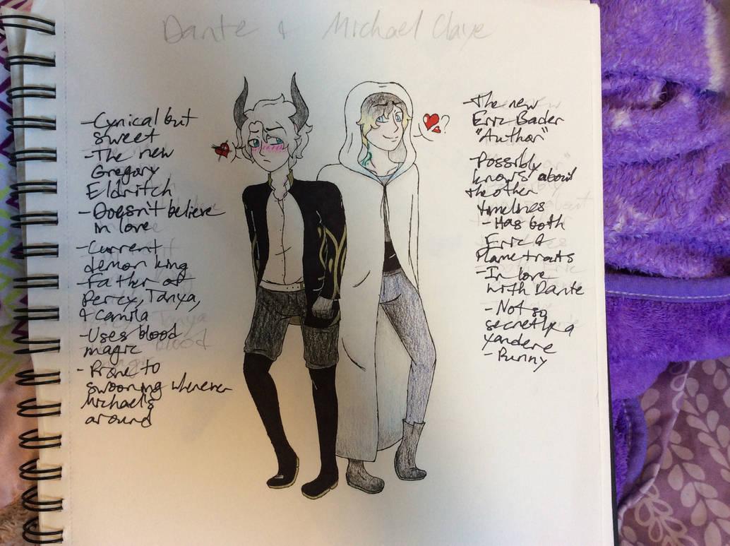 Dante and Michael Claye